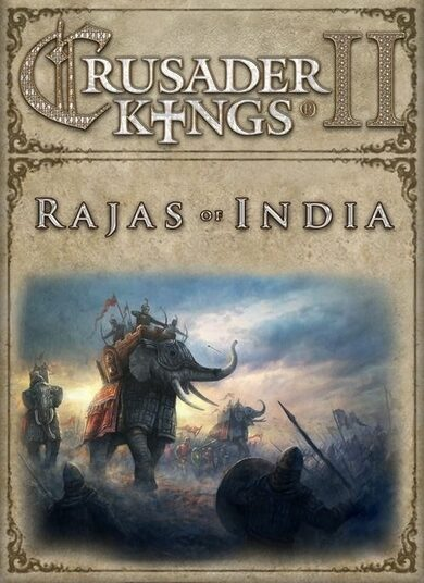 Crusader Kings II - Rajas of India (DLC) Steam Key GLOBAL
