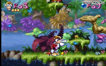 Get Rayman Nintendo DS