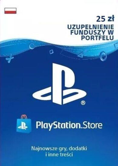 PlayStation Network Card 25 PLN (PL) PSN Key POLAND