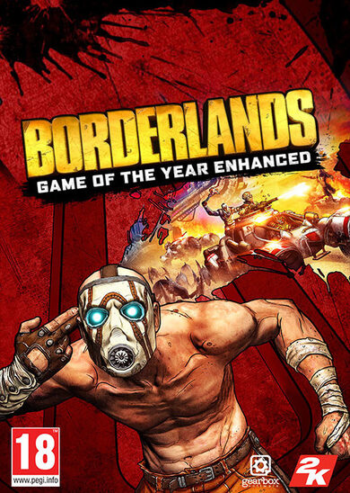 Borderlands: Game of the Year Enhanced Steam Key GLOBAL