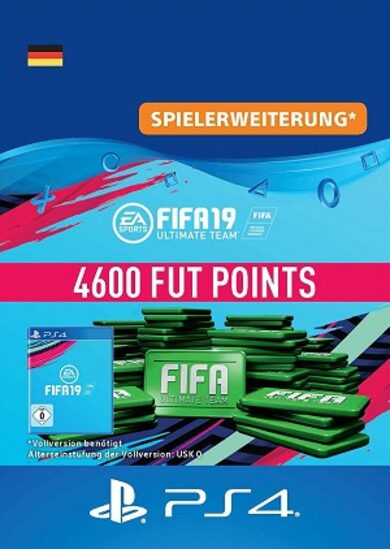 FIFA 19 - 4600 FUT Points (PS4) PSN Key GERMANY