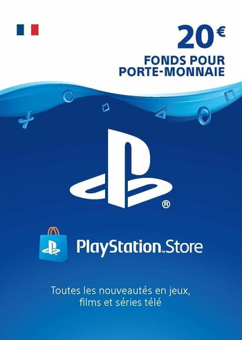 Carte PlayStation Network 20 EUR (FR) Carte PSN FRANCE