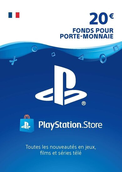 PlayStation Network Card 20 EUR (FR) PSN Key FRANCE