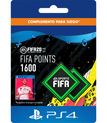 FIFA 20 - 1600 FUT Points (PS4) PSN Key CHILE