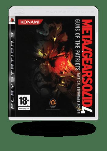 Metal Gear Solid 4: Guns of the Patriots PlayStation 3