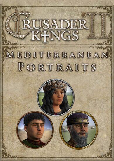 Crusader Kings II - Mediterranean Portraits (DLC) Steam Key GLOBAL