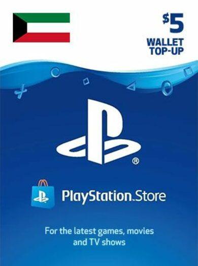 PlayStation Network Card 5 USD (KWD) PSN Key KUWAIT