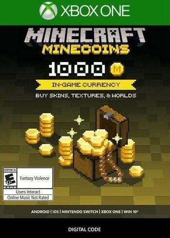 Minecraft: Minecoins Pack: 1000 Coins (Xbox One) Xbox Live Key GLOBAL