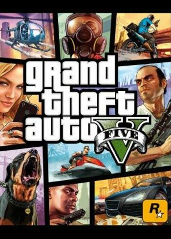 Grand Theft Auto V + Megalodon Shark Cash Card Rockstar Games Launcher Key GLOBAL
