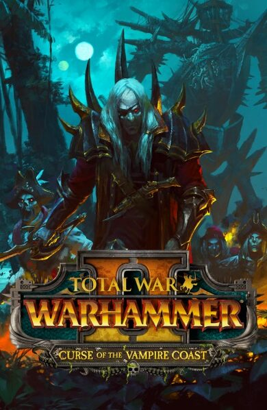 Total War: Warhammer II - Curse of the Vampire Coast (DLC) Steam Key EUROPE