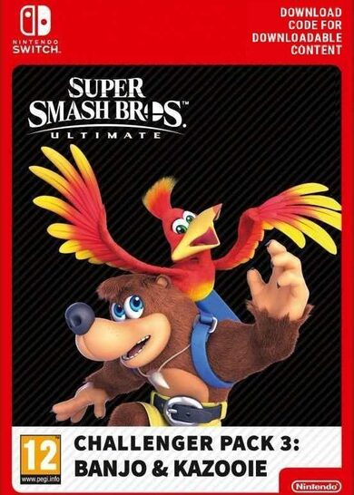Super Smash Bros Ultimate Challenger Pack 3 Banjo u. Kazooie Nintendo Switch