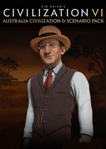 Sid Meier's Civilization VI - Australia Civilization & Scenario Pack (DLC) Steam Key GLOBAL