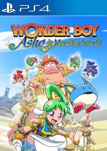 Wonder Boy: Asha in Monster World (PS4) PSN Key EUROPE
