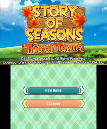 Story of Seasons: Trio of Towns Nintendo 3DS for sale