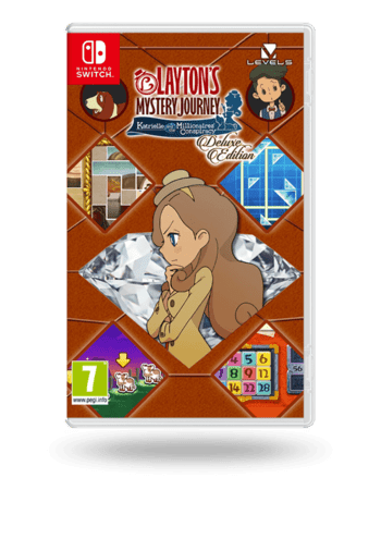 LAYTON'S MYSTERY JOURNEY™: Katrielle and the Millionaires' Conspiracy - Deluxe Edition Nintendo Switch
