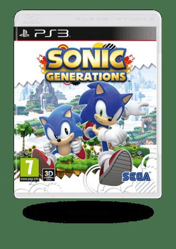 Sonic Generations PlayStation 3