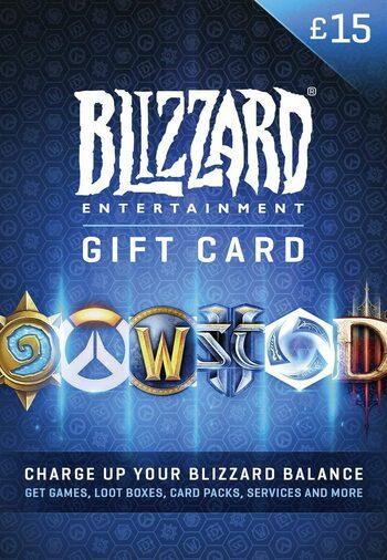 Battle.net Gift Card 15 GBP Battle.net Key UNITED KINGDOM