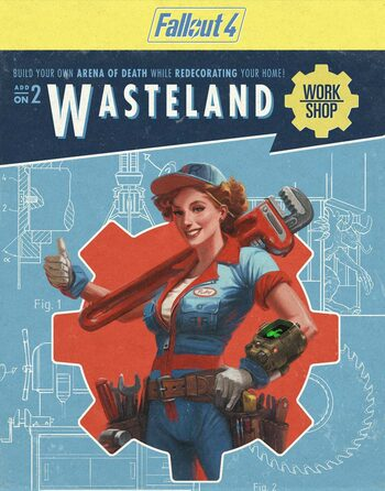 Fallout 4 - Wasteland Workshop (DLC) Steam Key GLOBAL
