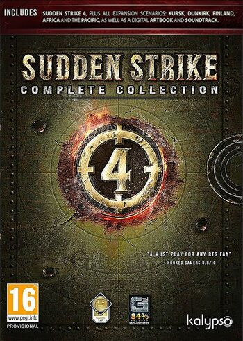 Sudden Strike 4 Complete Edition Steam Key GLOBAL