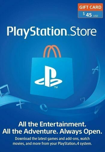 PlayStation Network Card 45 USD (LBN) PSN Key LEBANON