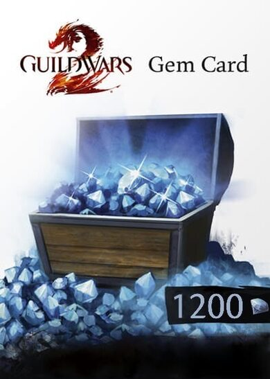 Guild Wars 2 1200 Gems Card Official website Key EUROPE