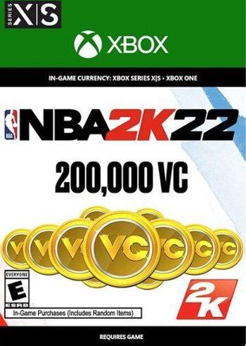 NBA 2K22: 200,000 VC XBOX LIVE Key UNITED STATES