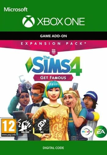 The Sims 4: Get Famous (DLC) (Xbox One) Xbox Live Key GLOBAL
