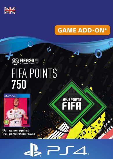 FIFA 20 - 750 FUT Points (PS4) PSN Key UNITED KINGDOM