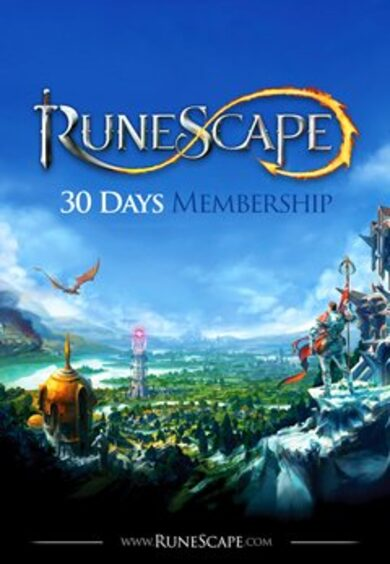 RuneScape 30 Day Membership Key EUROPE