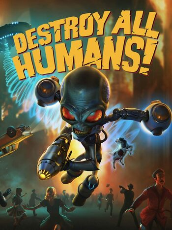 Destroy All Humans! Steam Key GLOBAL