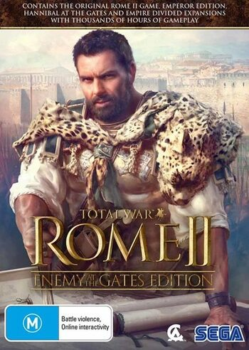 Total War: Rome II (Enemy At the Gates Edition) Steam Key EUROPE