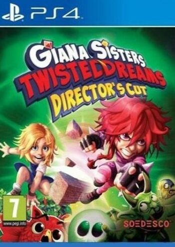 Giana Sisters Twisted Dreams Director's Cut (PS4) PSN Key GLOBAL