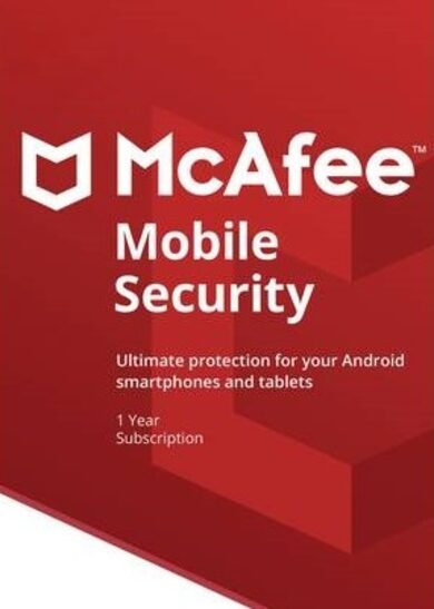 McAfee Mobile Security 1 Device 1 Year (Android) McAfee Key GLOBAL фото