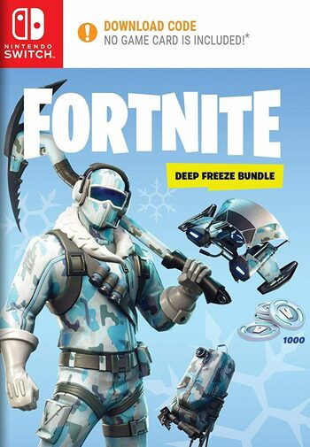 Fortnite: Deep Freeze Bundle (Nintendo Switch) eShop Key EUROPE