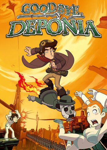 Goodbye Deponia Steam Key GLOBAL