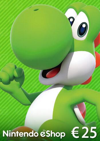 Carte Nintendo eShop 25 EUR clé EUROPE