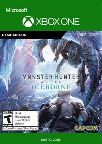 Monster Hunter World: Iceborne (DLC) (Xbox One) Xbox Live Key EUROPE