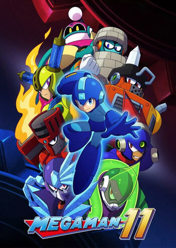 Mega Man 11 Steam Key GLOBAL