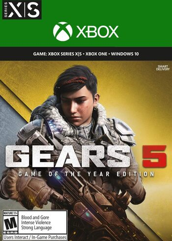 Gears 5 Game of the Year Edition PC/XBOX LIVE Key UNITED STATES