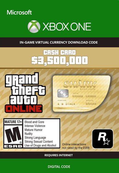 Grand Theft Auto Online: Whale Shark Cash Card (Xbox One) Xbox Live Key GLOBAL