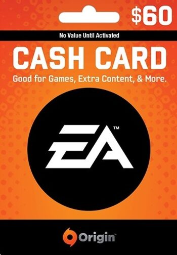 EA Origin Cash Card 60 USD Origin Key UNITED STATES