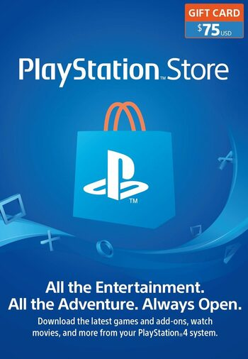 PlayStation Network Card 75 USD (USA) PSN Key UNITED STATES