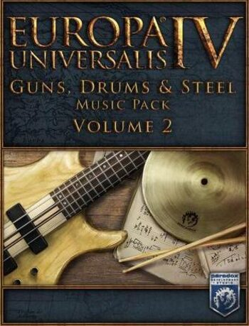 Europa Universalis IV - Guns, Drums and Steel Vol. 2 Music Pack (DLC) Steam Key GLOBAL