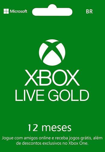 Xbox Live Gold 12 months Xbox Live Key BRAZIL