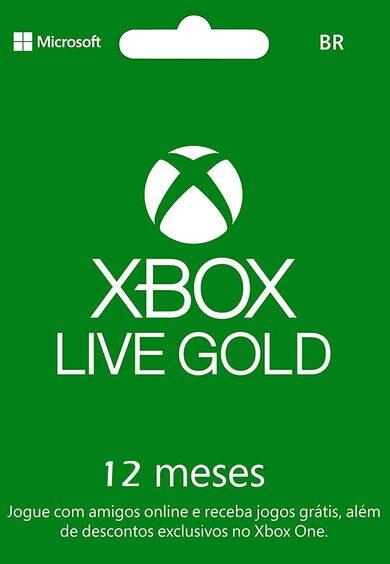 Xbox Live Gold 12 months Xbox Live Key BRAZIL фото