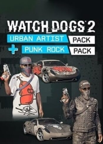 Watch Dogs 2 - Punk Rock + Urban Artist Pack (DLC) Uplay Key GLOBAL