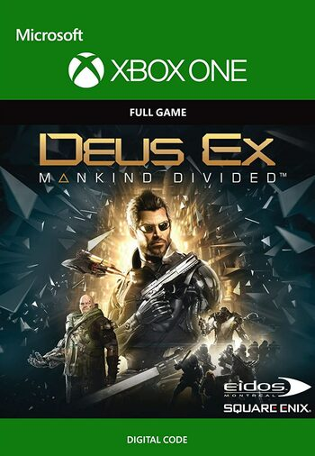 Deus Ex: Mankind Divided (Xbox One) Xbox Live Key UNITED STATES