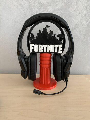 Soporte Auriculares Fortnite Rojo