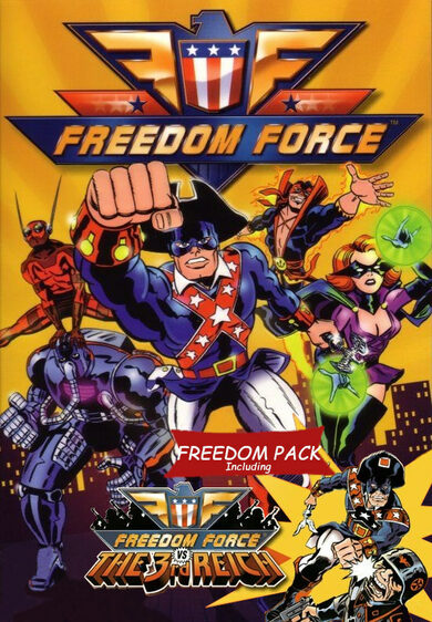 Freedom Force - Freedom Pack (DLC) Steam Key EUROPE