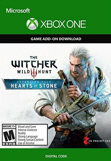 The Witcher 3 Wild Hunt The Hearts of Stone Xbox One